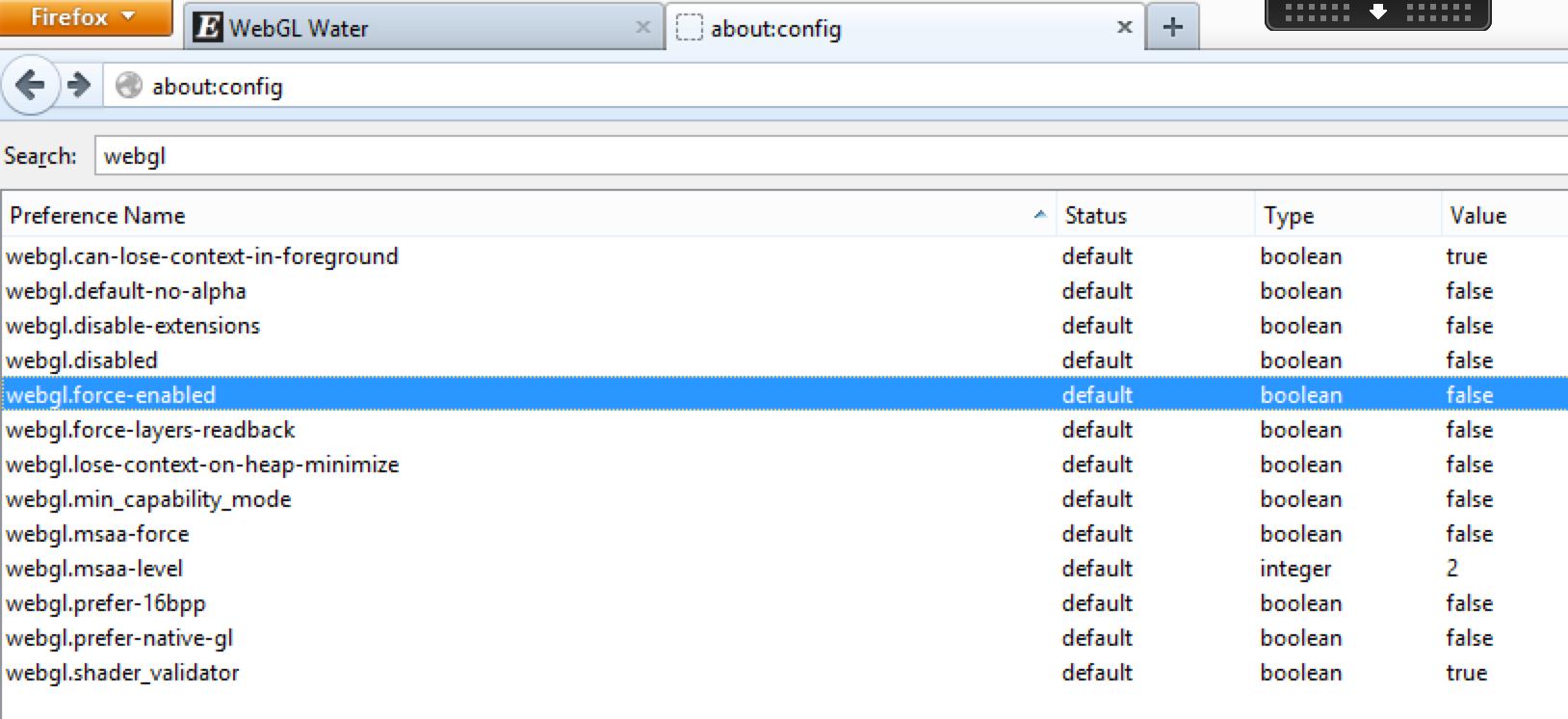 Mozilla Firefox 40 x Blocks GPU Acceleration for WebGL, Direct2D