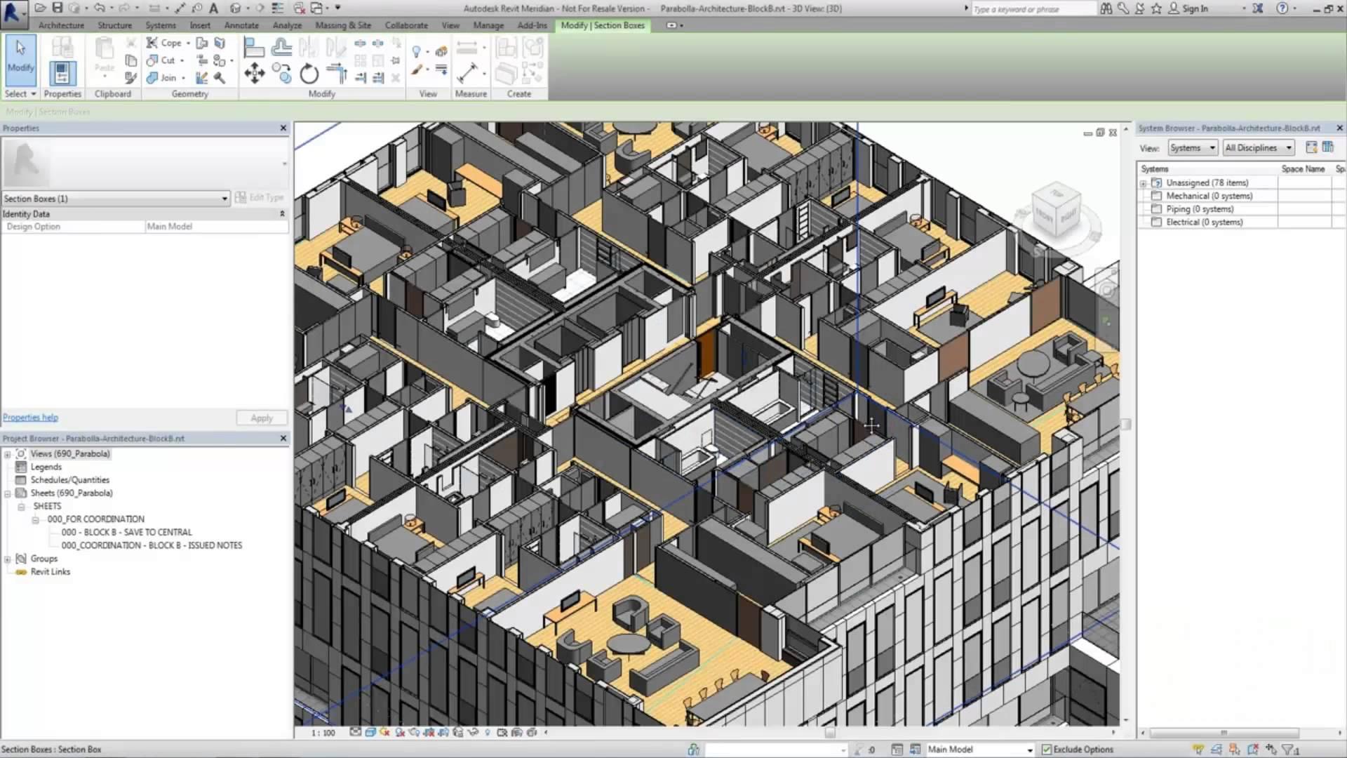 Revit2015 for Revit architecture modern house design 8