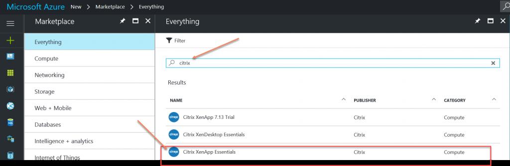 Citrix XenApp Essentials - Microsoft Azure - Poppelgaard com